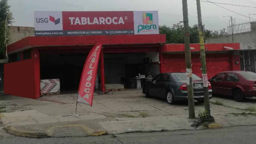 Fachada Sucursal PIESA Tablaroca Oblatos Guadalajara